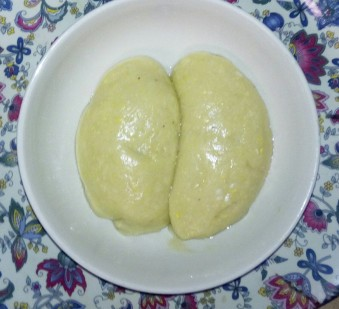 fufu after the preparation
