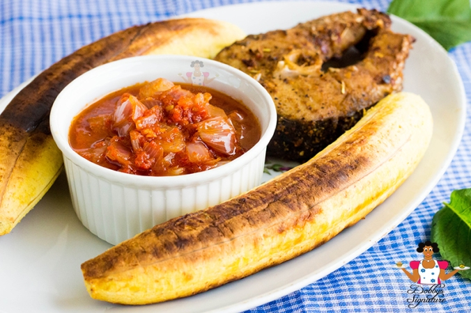 roasted-plantain-and-fish